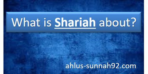 what is shariah about